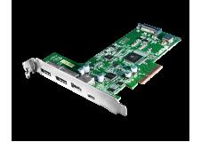 CalDigit 加州数位 FASTA-6GU3 Plus PCIe转接卡- USB 3.1 Gen 2, eSATA 6G接口