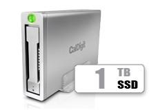 CalDigit 加州数位 AV Pro 2 USB-C 多功能桌面硬盘带HUB 1TB SSD
