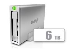 CalDigit 加州数位 AV Pro 2 USB-C 多功能桌面硬盘带HUB 6TB