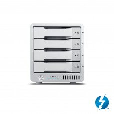 CalDigit 加州数位 T4 Thunderbolt™ 3 雷电3 RAID5磁盘阵列 16TB