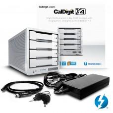 CalDigit 加州数位 T4 Thunderbolt™ 3 RAID  12TB  雷电3磁盘阵列 支持RAID5 含1米雷电3数据线