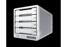 CalDigit 加州数位 T4 Thunderbolt™ 3 RAID  16TB  雷电3磁盘阵列 支持RAID5 含1米雷电3数据线