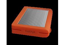 CalDigit 加州数位 Tuff USB-C 保护性移动硬盘   2TB  橘色