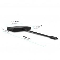 CalDigit 加州数位 Thunderbolt 3 双荧幕HDMI雷电3扩展坞集线器USB 乙太网络转接器