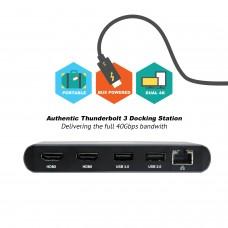 CalDigit 加州数位 Thunderbolt 3 双荧幕HDMI雷电3扩展坞集线器USB 乙太网络转接器(预计八月下旬发货)