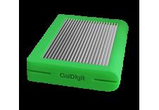 CalDigit 加州数位 Tuff USB-C 保护性移动硬盘   2TB  绿色