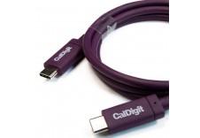 CalDigit 加州数位 USB-C Gen 2 Cable  USB3.1 数据线 10Gb/s  Type-C 传输线  1.0米